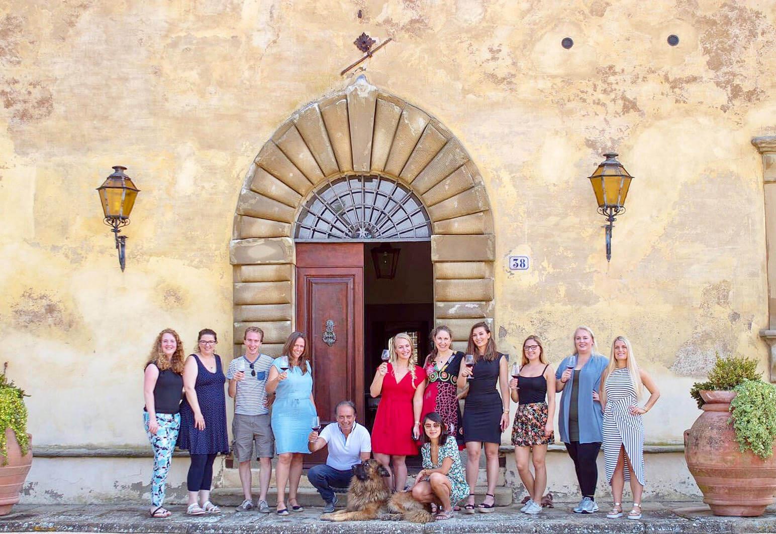 Met Parrano naar Toscane in Italië