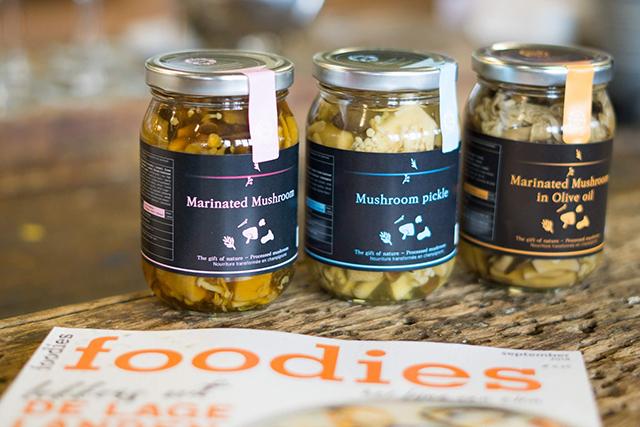 Greenco paddenstoelen risotto met Foodies Magazine