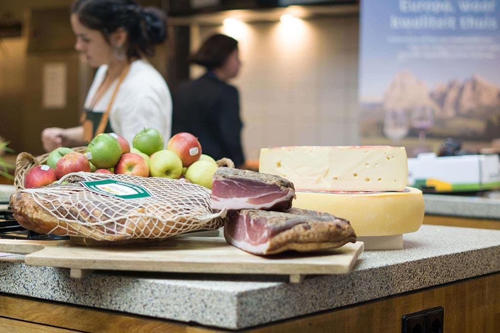 Kookworkshop met Italiaanse producten uit Zuid-Tirol www.thelemonkitchen.nl
