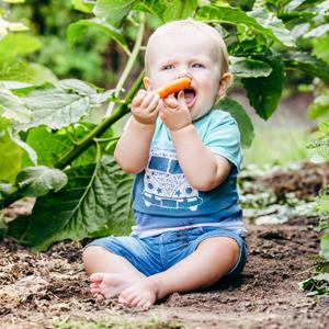 5 redenen waarom 'gezond eten' voor je baby belangrijk is