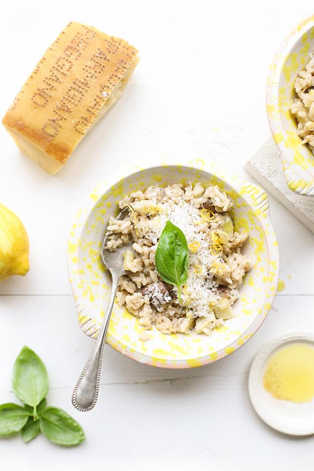 Risotto met citroen & Parmigiano Reggiano 'The Lemon Kitchen