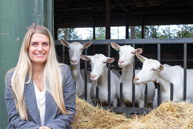 Jadis op de geitenboerderij