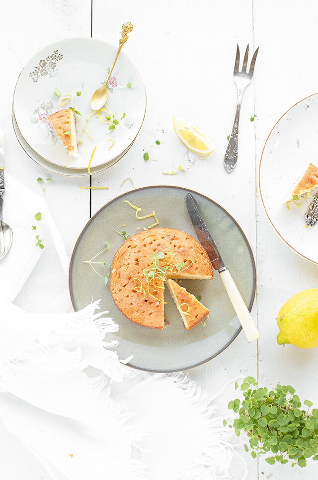 Smeuïge citroen bergamot cake