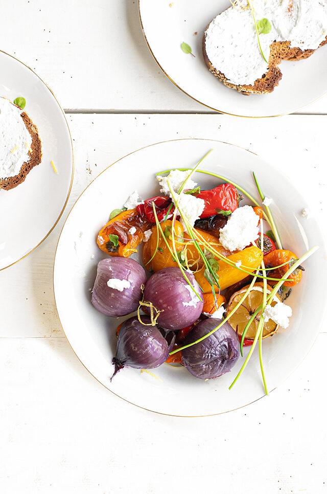 groente-uit-de-oven-met-geitenkaas