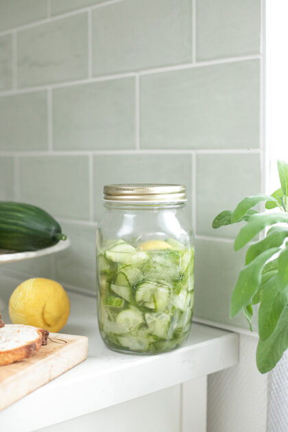 groente pickles met komkommer