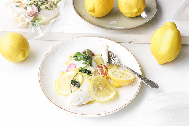 vis recepten met citroen
