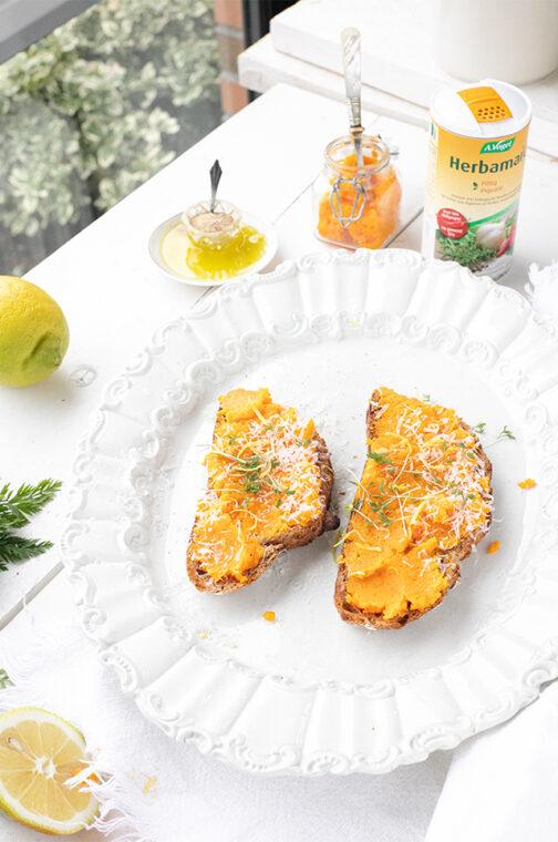 wortel spread met citroen