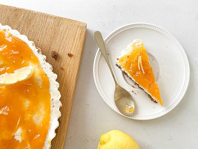 de lekkerste monchou taart met abrikozen en citroen