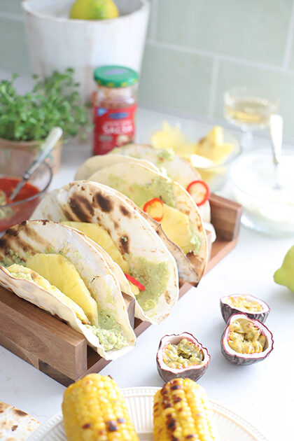 tacos tequila gamba