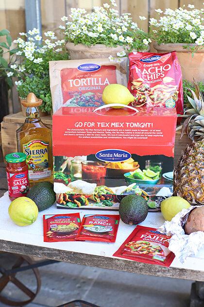 taco's tequila gamba's santa maria pakket