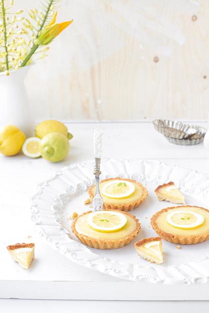 Kookboek citroen tartelette