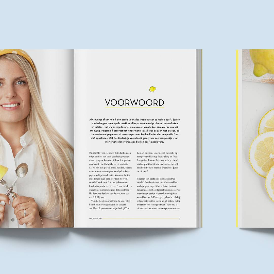 voorwoord The Lemon Kitchen kookboek