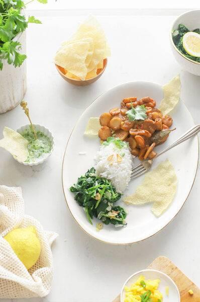 indiase curry met abrikoos recept