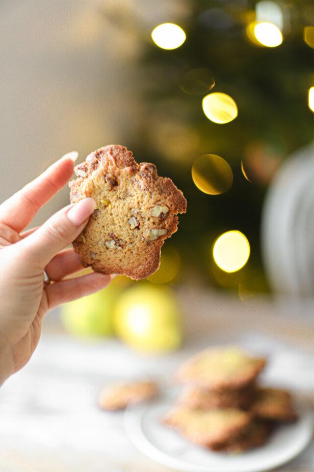 de lekkerste pecan noten koekjes met biologische citroen