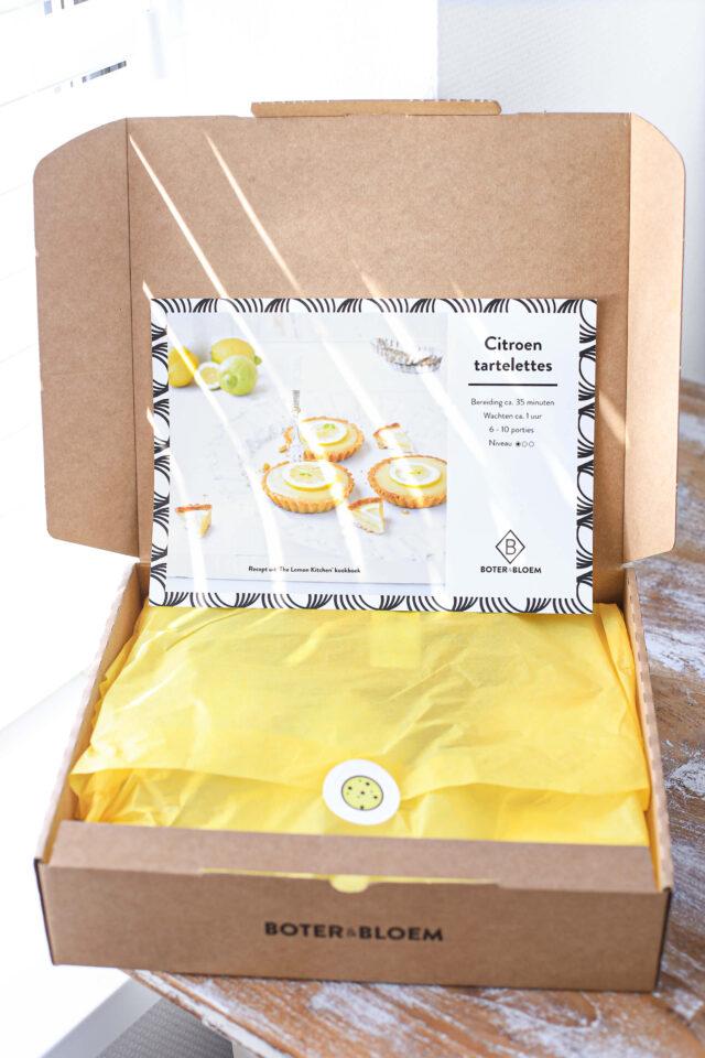 maak citroen tartelettes met bakbox