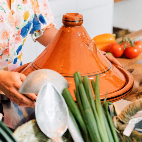 Gezond koken in een tagine