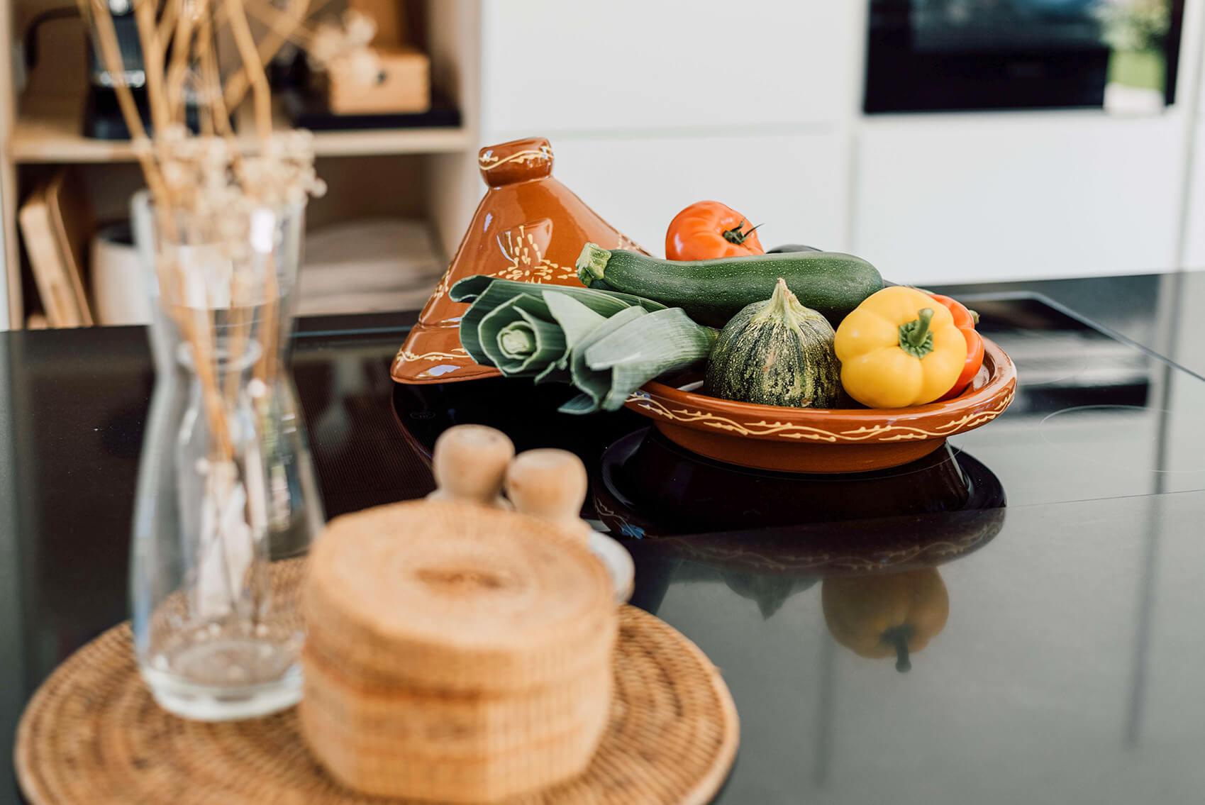 vegetarische tagine tajine met citroen