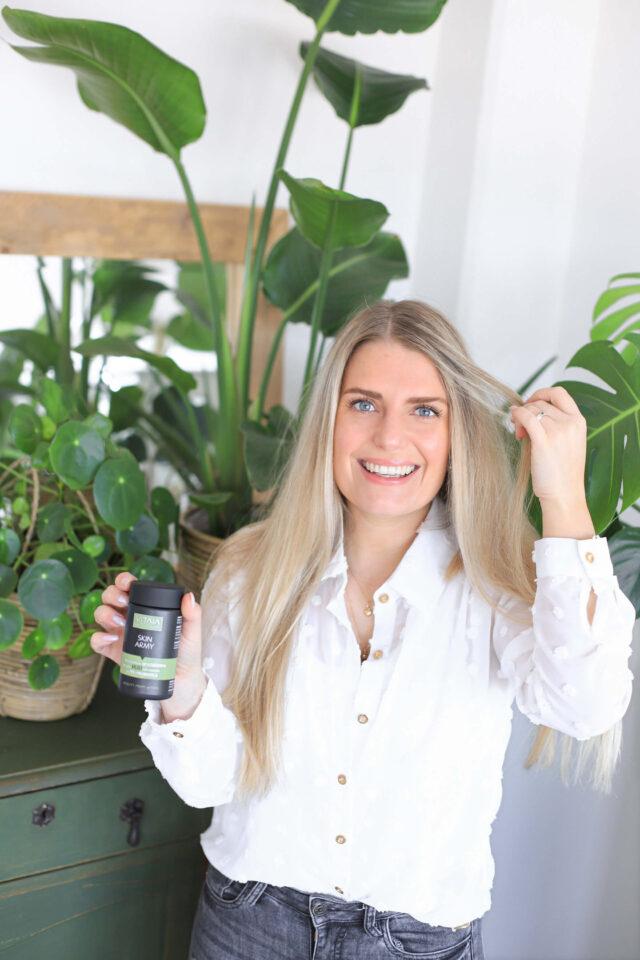 Jadis met Vitaia natuurlijke beauty supplementen