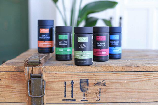 Vitaia natuurlijke beauty supplementen
