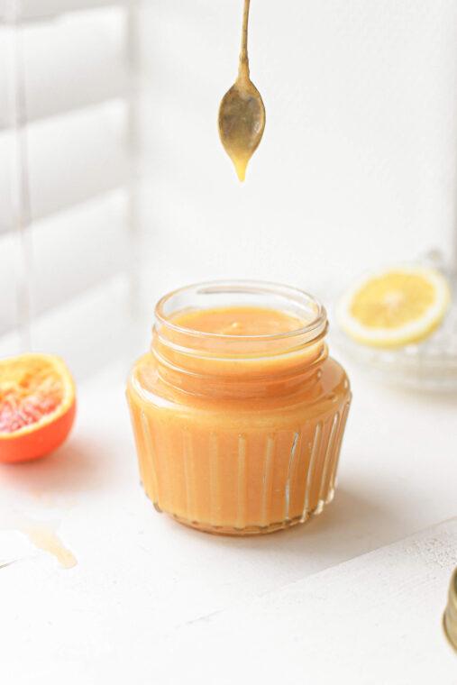 citroen curd met bloedsinaasappel