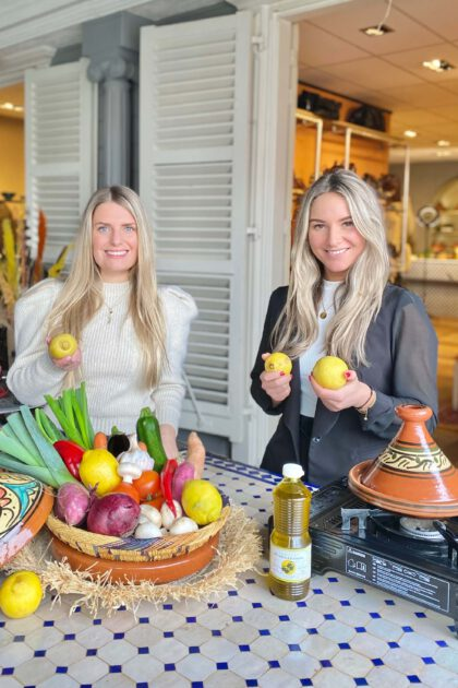 De Tagine en The Lemon Kitchen Nora & Jadis