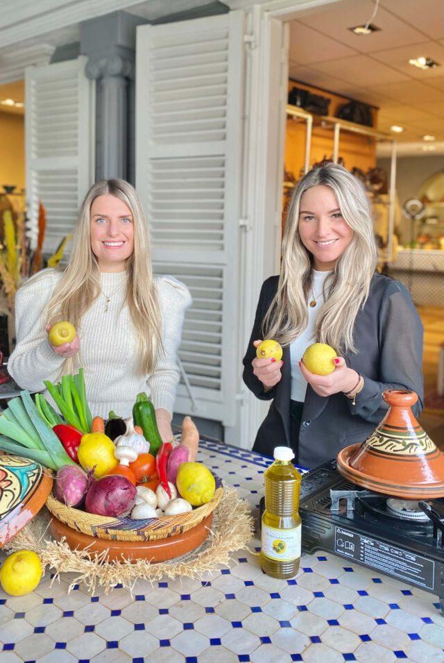 De Tagine en The Lemon Kitchen Nora & Jadis