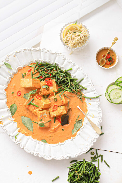 Pittige Thaise rode curry