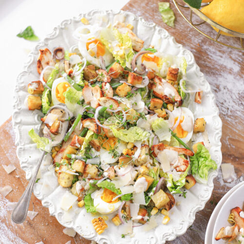caesar salade citroen the lemon kitchen