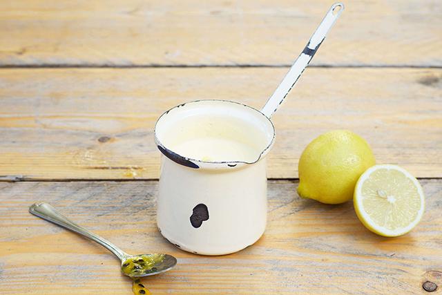 passievrucht beurre blanc