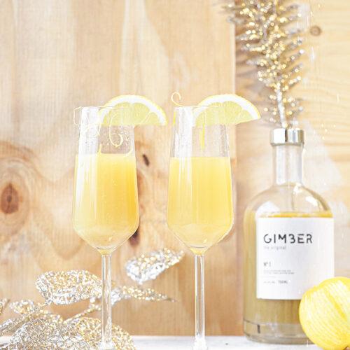 Citroen cocktail met Gember