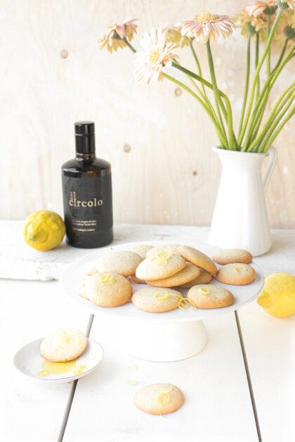 Citroen koekjes met olijfolie