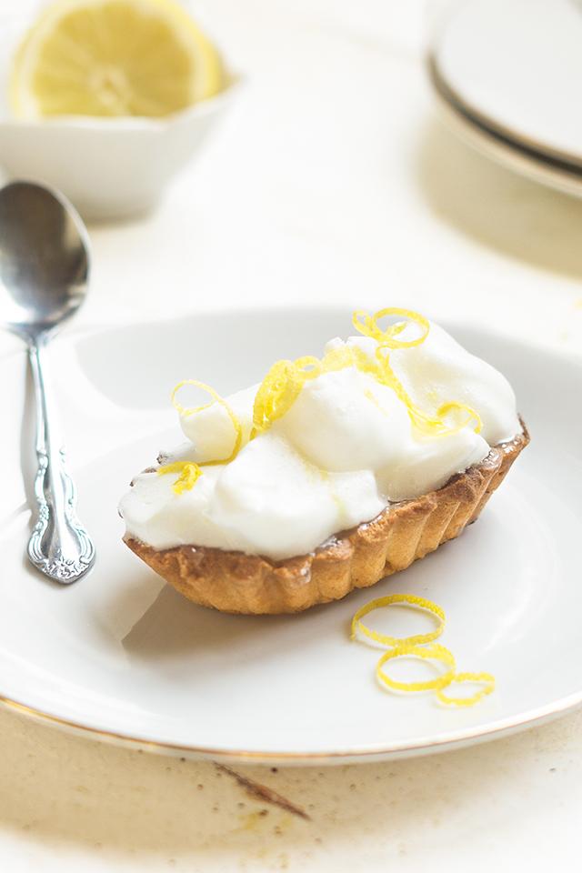 Lemon Meringue pie met lemoncurd