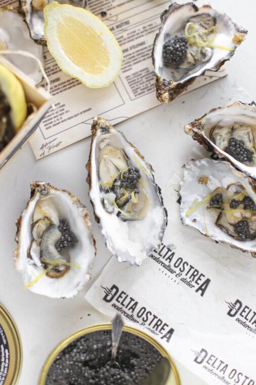 kerst recept oester kaviaar