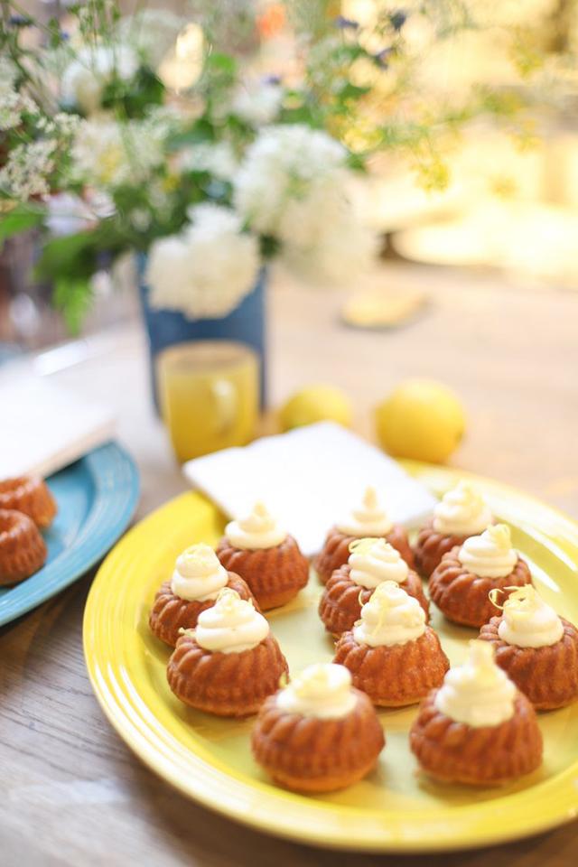 Zomerse limoncello cupcakes